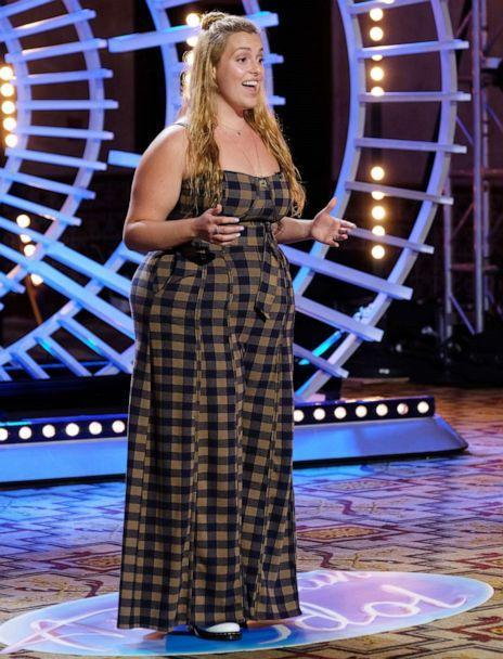 PHOTO: Claudia Conway performs on ABC's television show, 'American Idol,' during the season premiere, Feb. 14, 2021. (Christopher Willard/ABC)