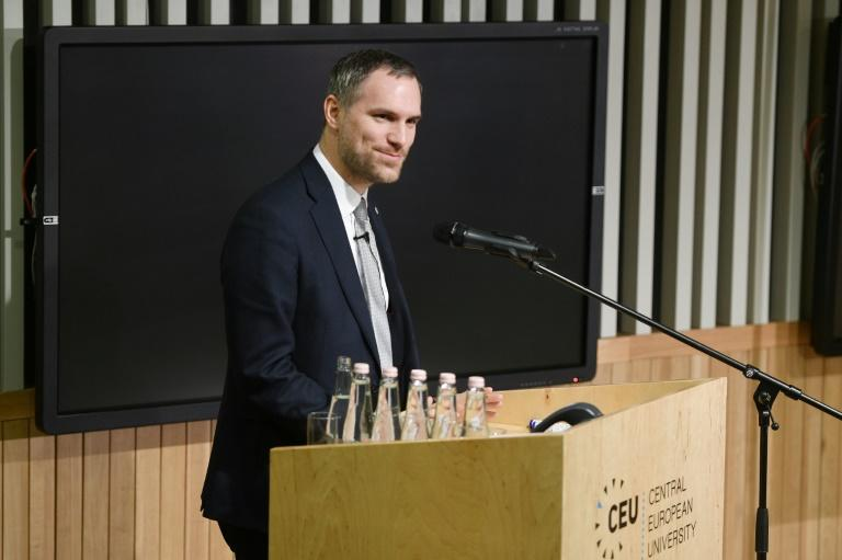 Prague mayor Zdenek Hrib (pictured December 2019) announced a twinning agreement with Taipei, reviving an ongoing dispute with Beijing that has soured Czech-Chinese relations