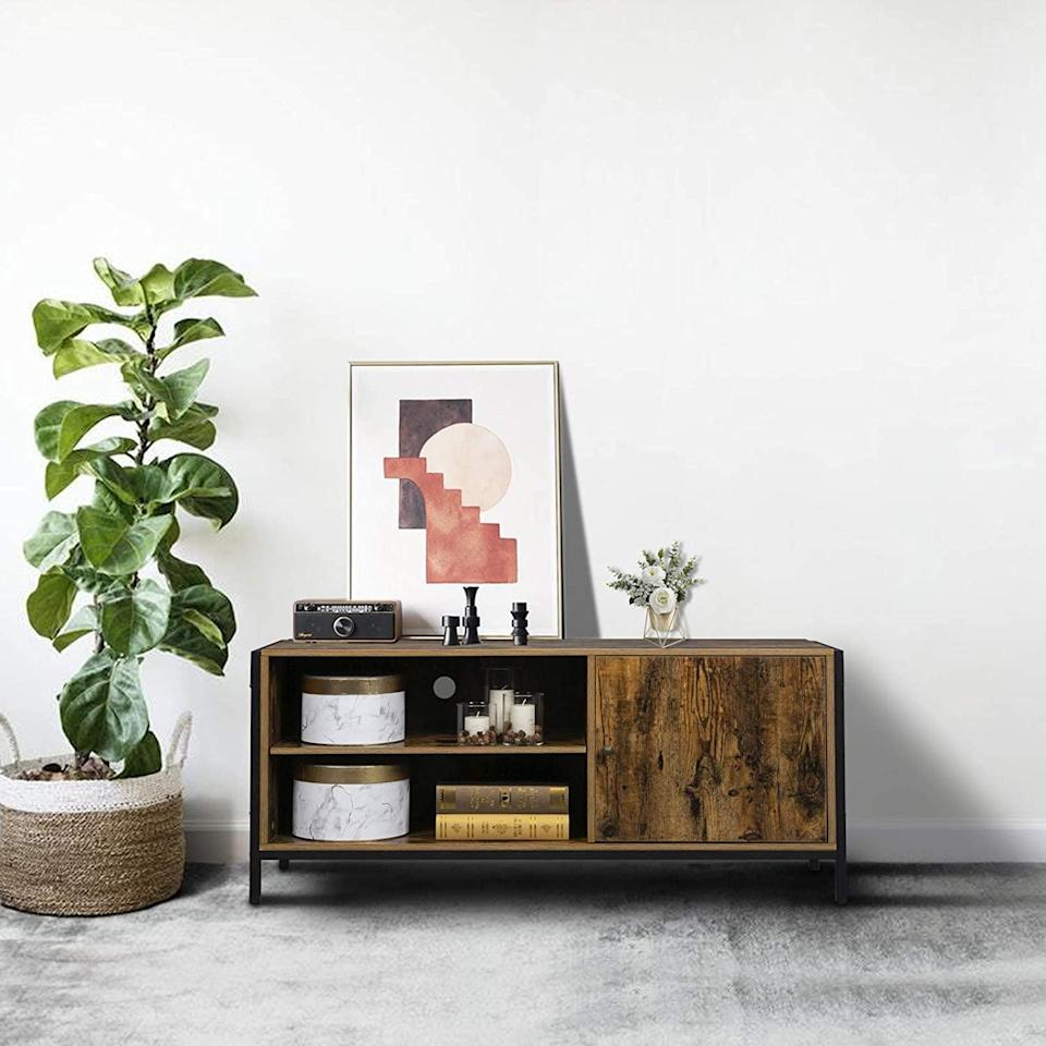 <p>This <span>Vingli Console Table</span> ($78) is a super-stylish piece that will center your space.</p>