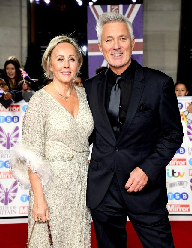 Shirlie Holliman and Martin Kemp