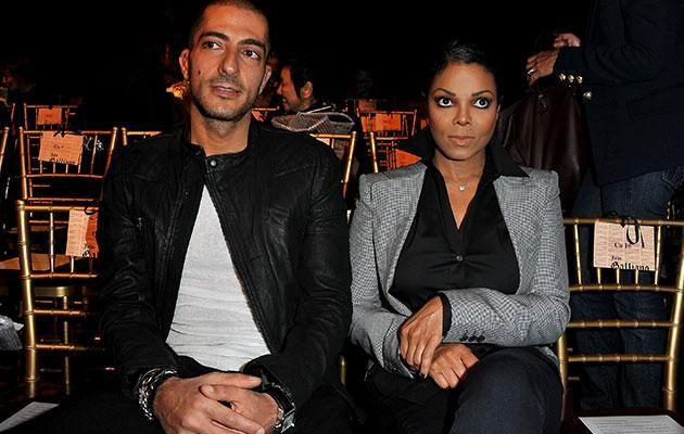 Janet and her now-estranged husband Wissam Al Mana in 2011. Source: Getty