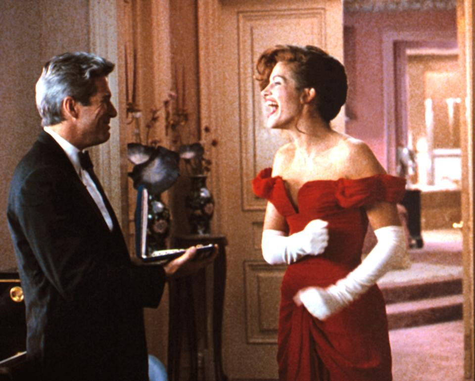 """Richard Gere and Julia Roberts star in the 1990 movie """"Pretty Woman."""" (Photo: Everett Collection)"""