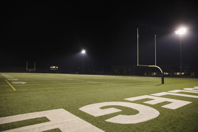 A Michigan community is mourning the loss of a high school football player. (Getty Images)