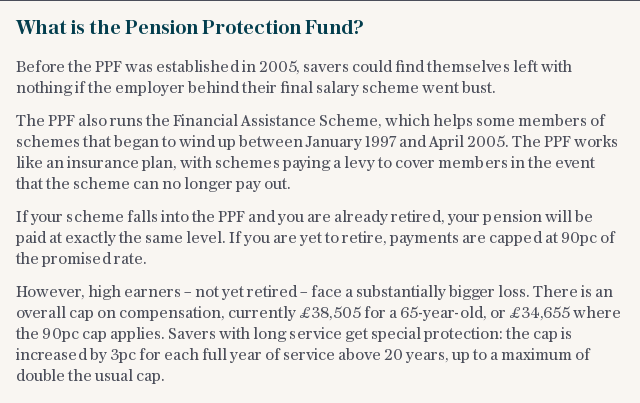 What is the Pension Protection Fund?