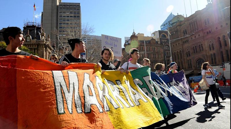 A postal vote on same-sex marriage seems likely after the Liberal Party quashed internal dissent.