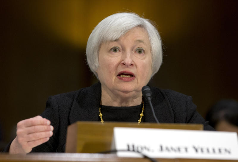 Yellen to investors: Expect continuity at the Fed