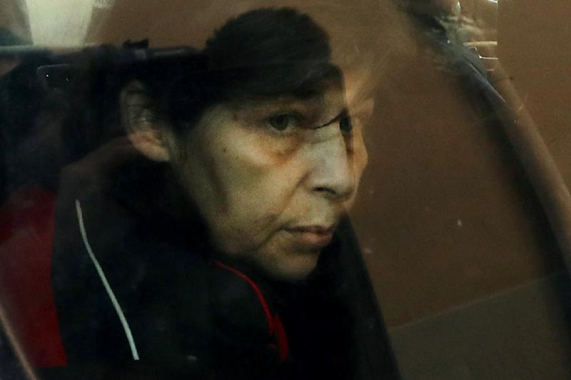 Patricia Dagorn in January 2018, when she was sentenced to 22 years in prison for allegedly seducing and poisoning wealthy elderly men