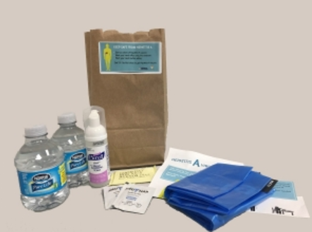 Hygiene kits are being distributed in San Diego. (San Diego County)