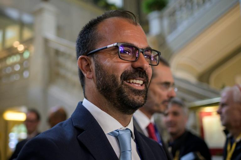 Italian Education Minister Lorenzo Fioramonti, pictured in September 2019, has resigned