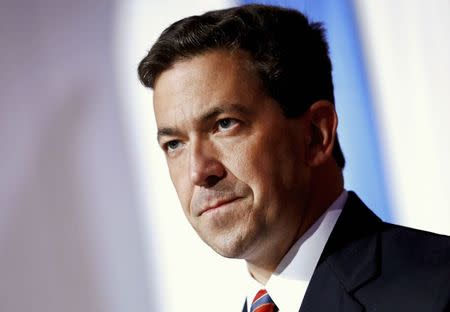 File photo of McDaniel delivering a concession speech in Hattiesburg