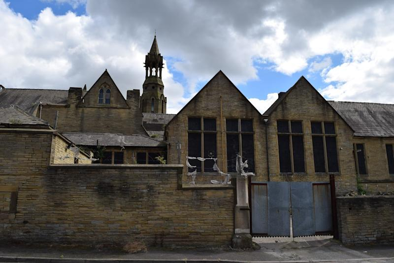 <strong>The now-abandoned school has seen better days</strong> (The Victorian Society)