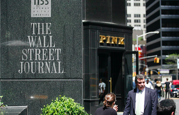 Wall Street Journal Editorial Rejects 'Cancel-Culture Pressure' After Staff Letter Criticizing Opinion Section