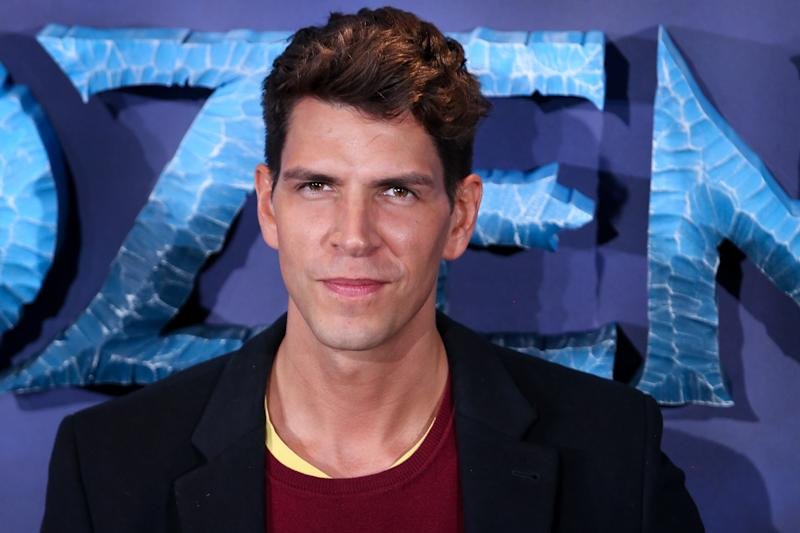 MADRID, SPAIN - NOVEMBER 19: Diego Matamoros attends 'Frozen II' premiere at Callao Cinema on November 19, 2019 in Madrid, Spain. (Photo by Pablo Cuadra/Getty Images)