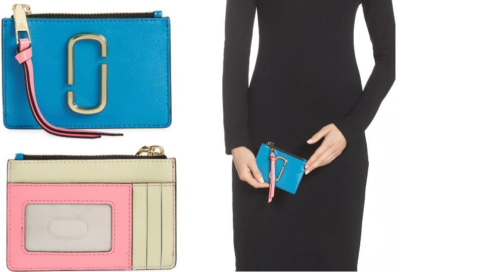 Marc Jacobs Snapshot Leather ID Wallet - Nordstrom, $57 (originally $95)