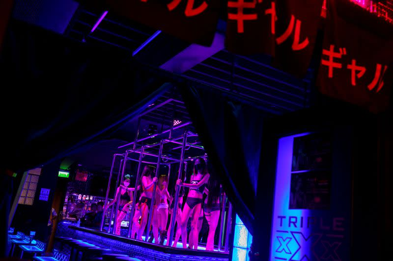 Bars and nightclubs in Thailand reopen amid the spread of the coronavirus disease (COVID-19)
