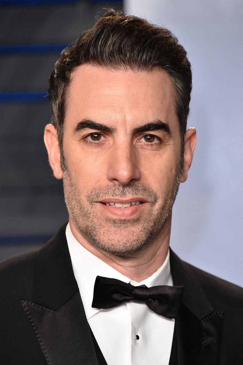 """<p>In an attempt to be funny, Cohen dressed like his character from the movie <em>The Dictator </em>at the 2012 Oscars<em>. </em>During his interview with Ryan Seacrest, he stays in character, talking in an accent—which is already close to crossing a line. Cohen makes it worse when he <a href=""""https://www.youtube.com/watch?v=mhAg0COnqds&t=3s"""" rel=""""nofollow noopener"""" target=""""_blank"""" data-ylk=""""slk:spills an urn he claims is filled with Kim Jong Un's ashes"""" class=""""link rapid-noclick-resp"""">spills an urn he claims is filled with Kim Jong Un's ashes</a> all over Seacrest. Whether it was on purpose or not, this was a red carpet they'll both remember.</p>"""