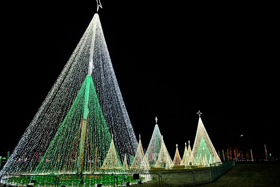 Christmas in the Park was held at Arnette Park in Fayetteville, N.C., in December  2019. The threat of COVID-19 is changing the way the holidays will be celebrated across the Cape Fear region this year.