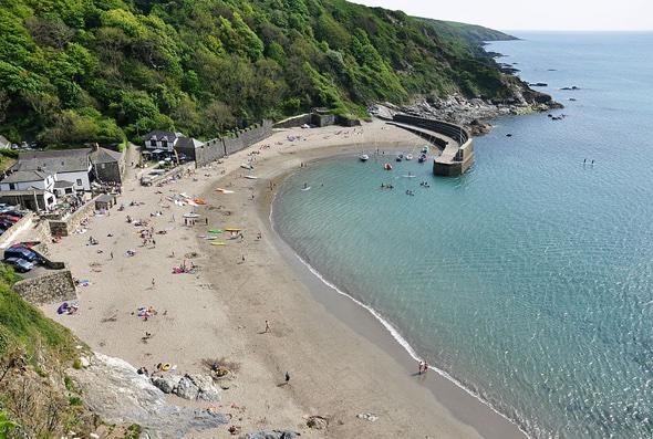 Spare £250k? Buy your own beach in Cornwall