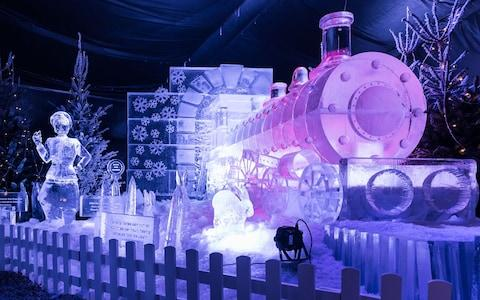 In Manchester, your family can enjoy a completely immersive visit to a village made of ice - Credit: Ice Village