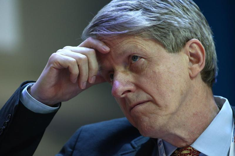 Nobel Prize Winner Robert Shiller thinks the economy is about to go belly up. Source: Getty