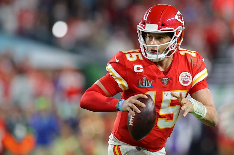 Chiefs quarterback Patrick Mahomes says he wants to chase more championships in Kansas City. (Photo by Kevin C. Cox/Getty Images)
