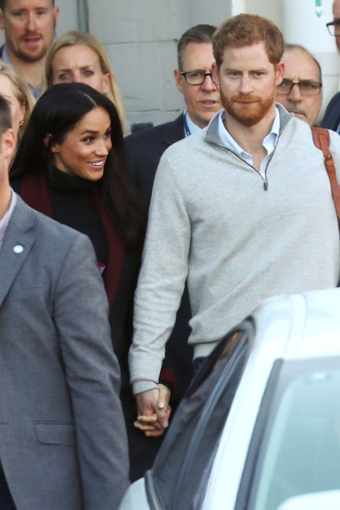 Meghan Markle and Prince Harry land in Sydney