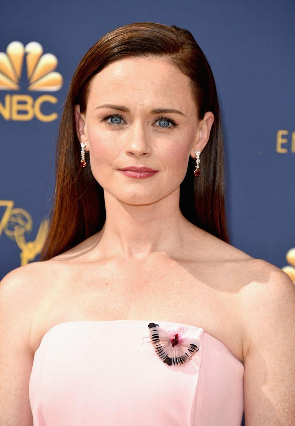 """<p>Since <em>Gilmore Girls</em>, Alexis' career has continued to flourish. The actress had a reoccurring role on <em>Mad Men </em>in 2012<em>, </em>where she met her now-husband Vincent Kartheiser. She also won an Emmy for her role in Hulu's <em>The Handmaid's Tale.</em> <a href=""""https://www.youtube.com/watch?v=LXerH2cxKAY"""" rel=""""nofollow noopener"""" target=""""_blank"""" data-ylk=""""slk:Recently, she announced"""" class=""""link rapid-noclick-resp"""">Recently, she announced</a> plans for <em>The Sisterhood of the Traveling Pants 3. </em></p>"""