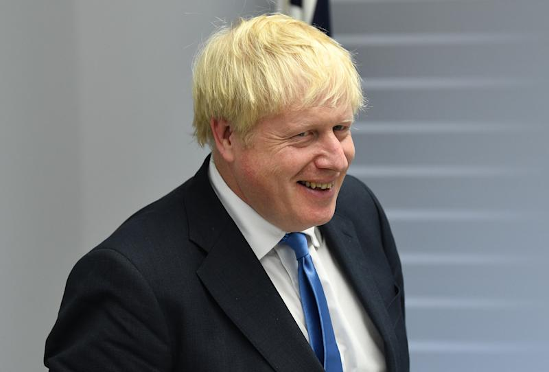 Prime Minister Boris Johnson during his meeting with Japanese Prime Minister Shinzo Abe for bilateral talks during the G7 summit in Biarritz, France.