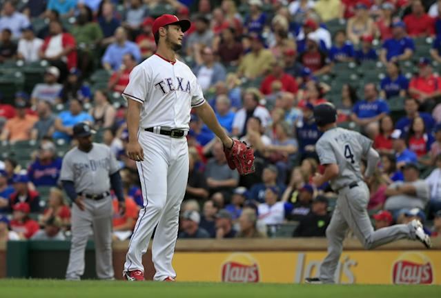 The Rangers continue to slide, falling eight spots in this week's rankings. (Getty Images)