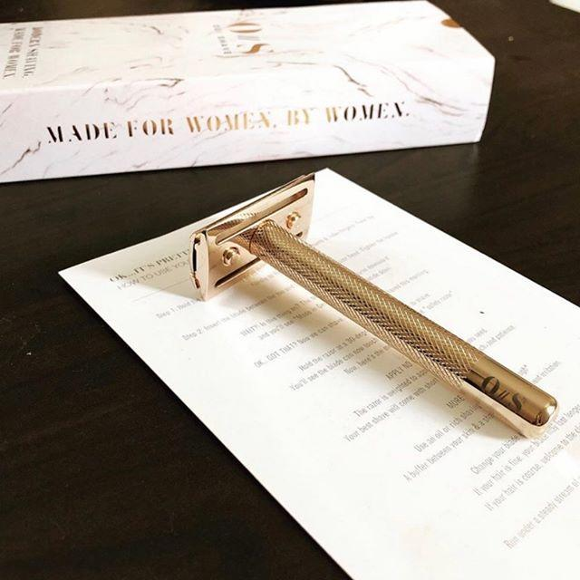 "<p>Add a dose of luxury to your shaving experience with Oui the People. After growing more and more frustrated with typical pink razors that leave nicks and cuts behind, Karen Young decided to take matters into her own hands. Her rose gold razor, which comes with 10 blades, is designed to keep irritation and in-grown hairs at bay.</p><p><a class=""link rapid-noclick-resp"" href=""https://www.ouithepeople.com/"" rel=""nofollow noopener"" target=""_blank"" data-ylk=""slk:SHOP NOW"">SHOP NOW</a> </p><p><a href=""https://www.instagram.com/p/B1uKAbLnRZH/&hidecaption=true"" rel=""nofollow noopener"" target=""_blank"" data-ylk=""slk:See the original post on Instagram"" class=""link rapid-noclick-resp"">See the original post on Instagram</a></p>"