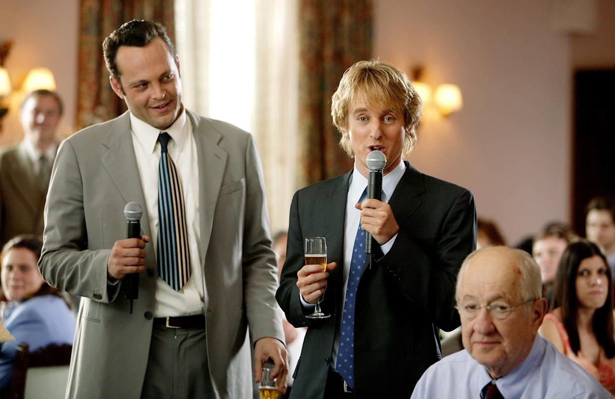 Vince Vaughn and Owen Wilson in the 2005 comedy hit, 'Wedding Crashers.' A sequel is rumored to be shooting later this year. (Photo: New Line/courtesy Everett Collection)