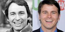 <p>John Ritter's most notable role was on the '70s sitcom, Three's Company, which he landed at 28. And his son inherited more than just his million watt smile: He's gone on to act just like his late father, and had been on several TV shows by his late 20s.</p>