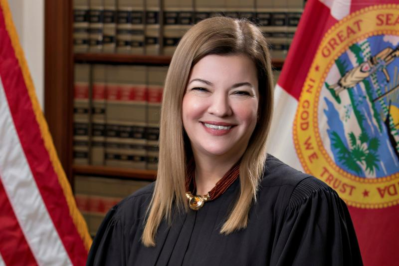 Barbara Lagoa, (Florida Supreme Court/Handout via Reuters)