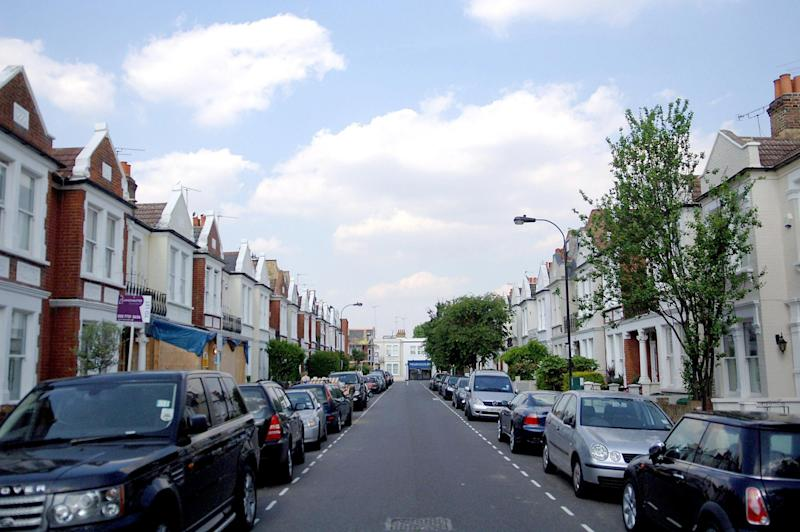 Gowan Avenue in Fulham where Dando was murdered (PA Archive/PA Images)