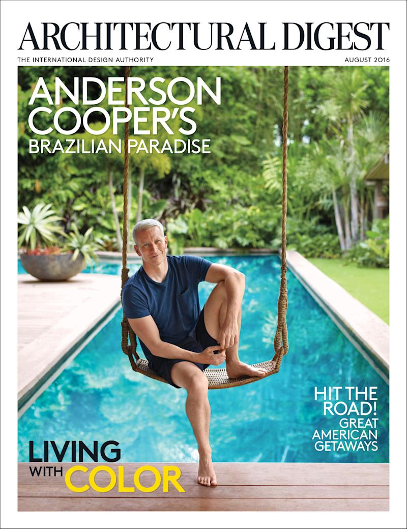 Anderson cooper s brazilian rest house is a vintage and rustic dream - View Photos
