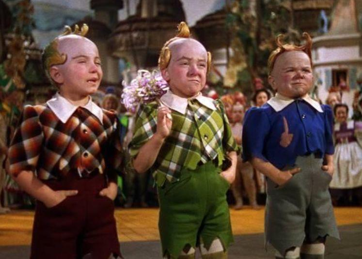 <strong>Jerry (in green) in the 1939 film 'The Wizard Of Oz'</strong> (Photo: MGM)