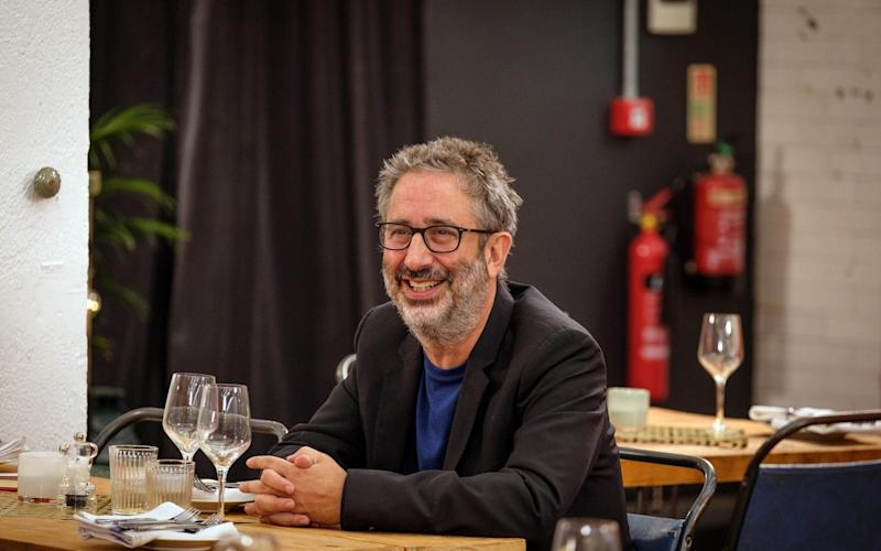 David Baddiel, whose father has dementia, came to offer support - Channel 4 images must not be altered or manipulated in any way. This picture may be used solely for