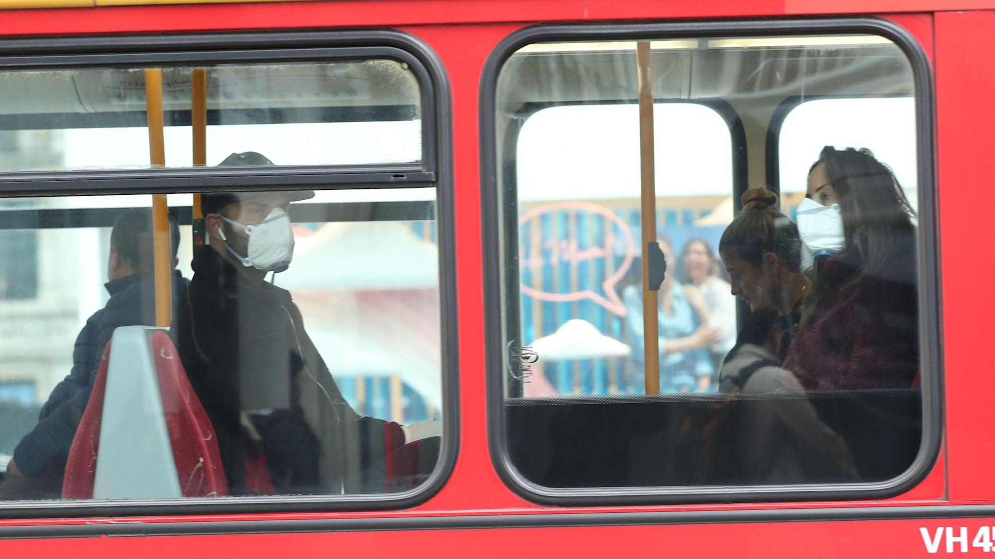 Face coverings to remain mandatory on public transport in Wales