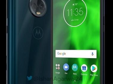 Moto G6 Blue and Black. Image credit: Mobilescout