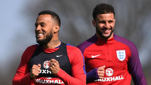 Eddie Jones led England's rugby side to a record-equalling 18 wins in a row and Ryan Bertrand wants the football team to follow their lead.