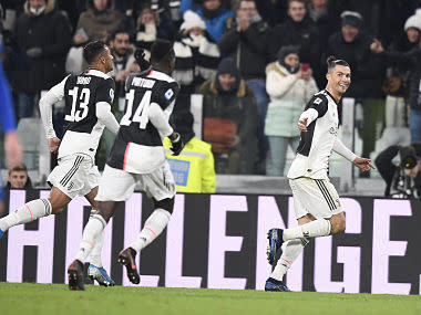 Serie A: Cristiano Ronaldo's brace against Parma helps Juventus go four points clear at top; Inter Milan held by Lecce