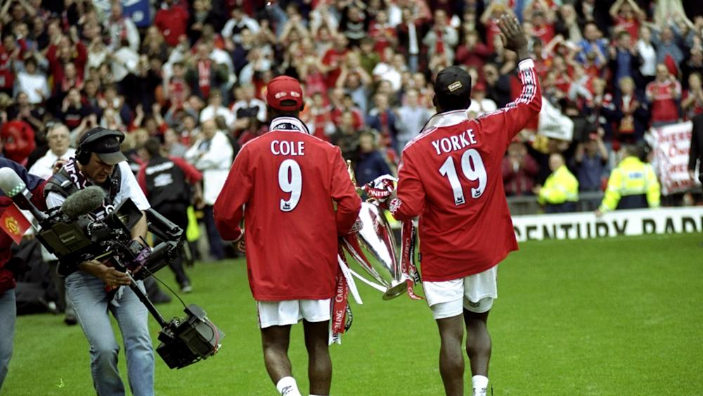 Andy Cole Dwight Yorke