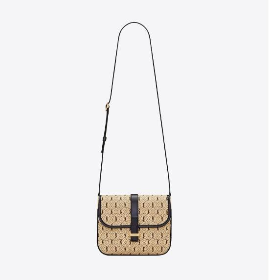 <p>This <span>Saint Laurent Monogram Satchel</span> ($1,650) is casual and stylish for everyday wear and the monogram print adds a vintage feel.</p>