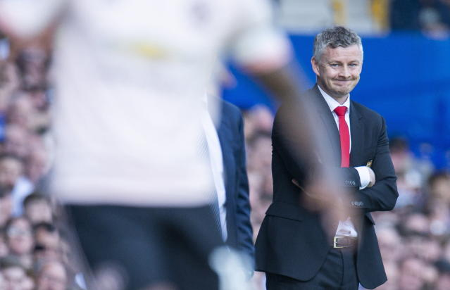 Ole Gunnar Solskjaer's side failed to have a shot on target until they were 4-0 down