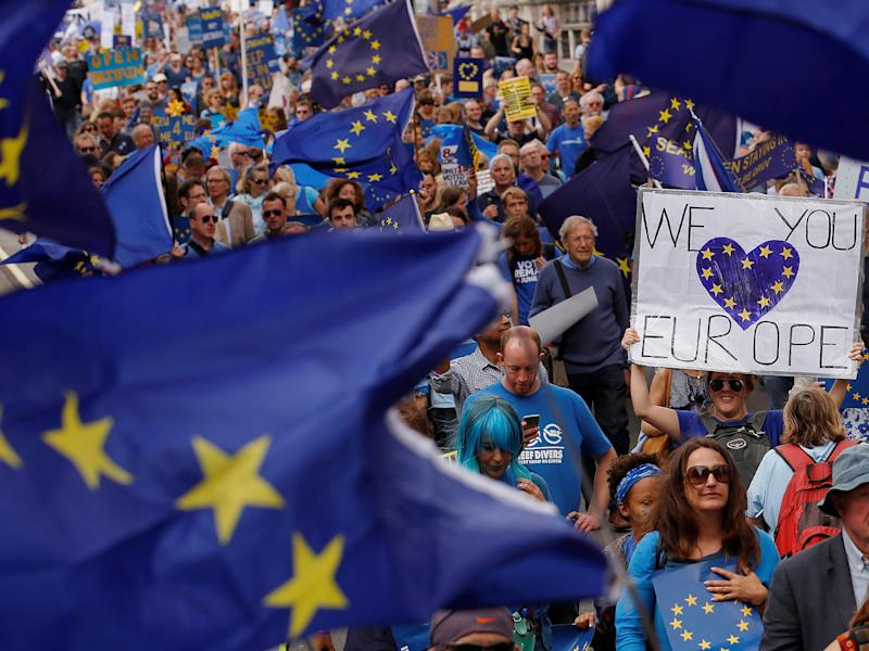 The findings come as the Government is under pressure to soften its plan for a hard Brexit: Reuters