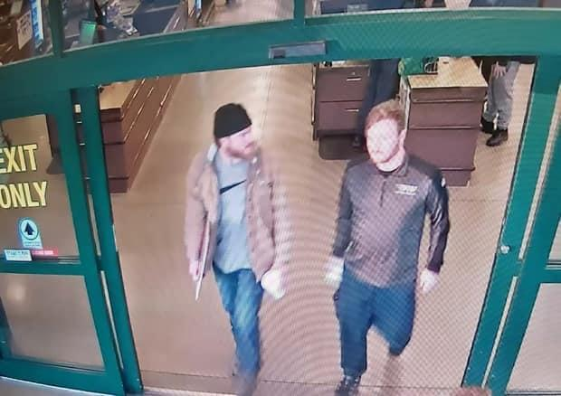 On Jan. 1, 2020, Mathews, left, and Brian Lemley, the co-accused, were seen in video surveillance at a store in Delaware. They bought approximately 150 rounds of ammunition as well as paper shooting targets.