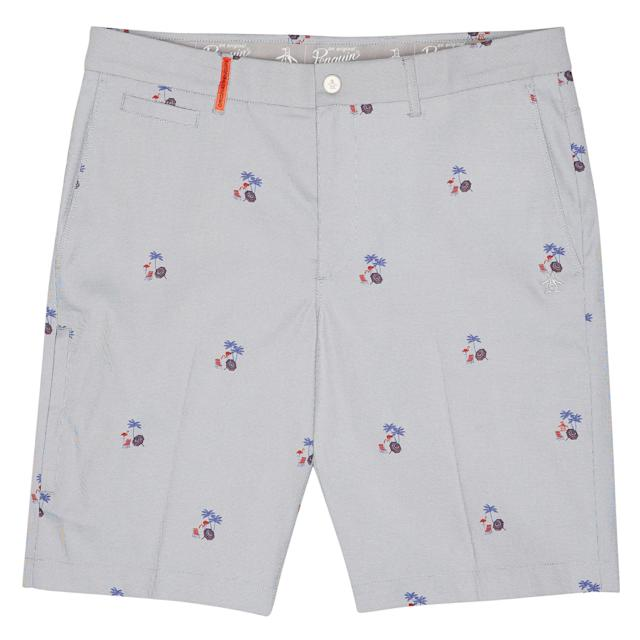 "<p>Original Penguin's relaunched golf collection is super gift-able. The iconic menswear brand knows how to make clothes that look good and will hold up through any activity. These fun beach print shorts are stretchy and breathable. The slim cut is flattering with a lightweight feel, perfect for a few hot summer rounds or a trendy backyard barbecue.</p> <p><strong><a href=""https://www.originalpenguin.com/golf/shorts/pete-on-the-beach-golf-short/OGBM8007DS.html?dwvar_OGBM8007DS_color=417&cgid=opggolf"" rel=""nofollow noopener"" target=""_blank"" data-ylk=""slk:originalpenguin.com"" class=""link rapid-noclick-resp"">originalpenguin.com</a></strong>/$89</p>"