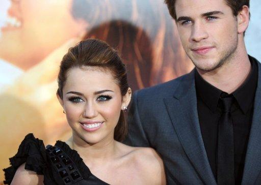 "Australian ""Hunger Games"" actor Liam Hemsworth has proposed to ""Hannah Montana"" girlfriend Miley Cyrus"