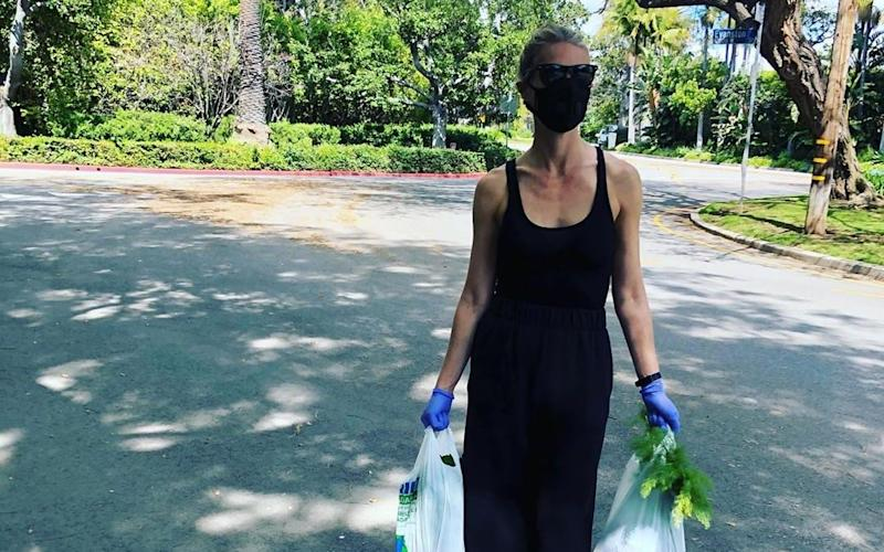 Gwyneth Paltrow has recently been photographed in a face mask