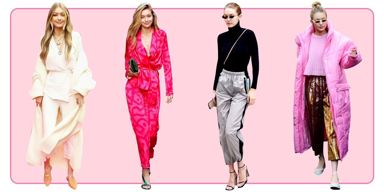 <p>From bath robe-inspired jackets to lazy-girl sweats, Gigi Hadid expertly takes any trend and makes you want to buy it ASAP. Ahead, check out all her best street style moments throughout the years that you'll probably end up copying the next time you get dressed. </p>